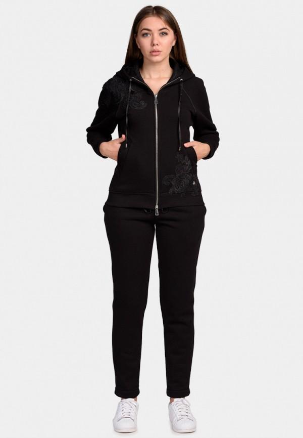 женский спортивные спортивный костюм o&j, черный