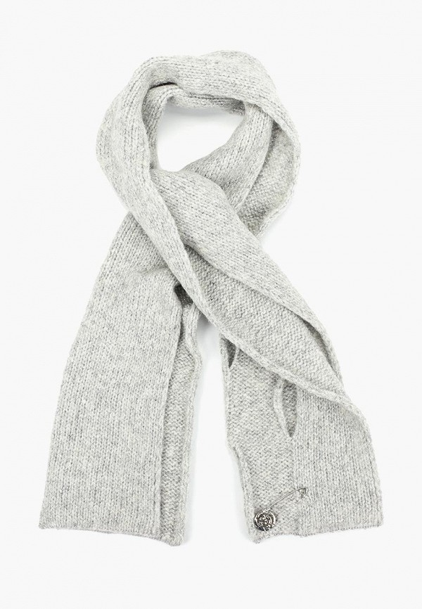 женский шарф jacote, серый