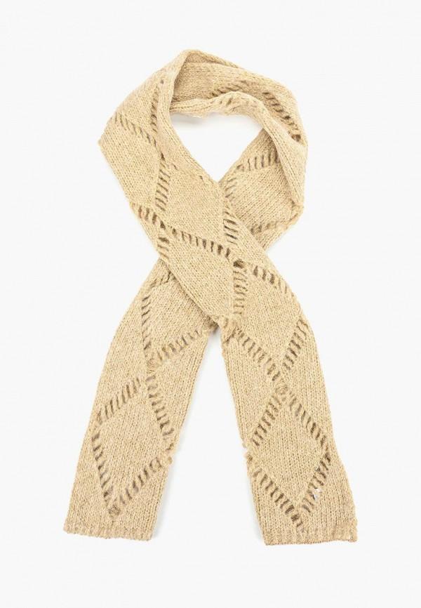 женский шарф jacote, бежевый