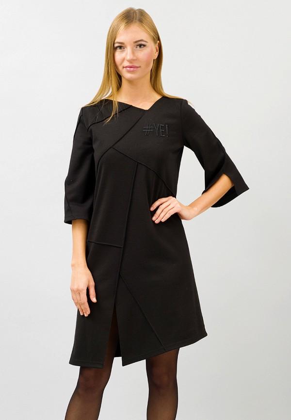 женское повседневные платье pavel yerokin, черное