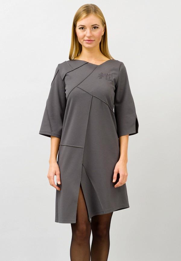 женское повседневные платье pavel yerokin, серое