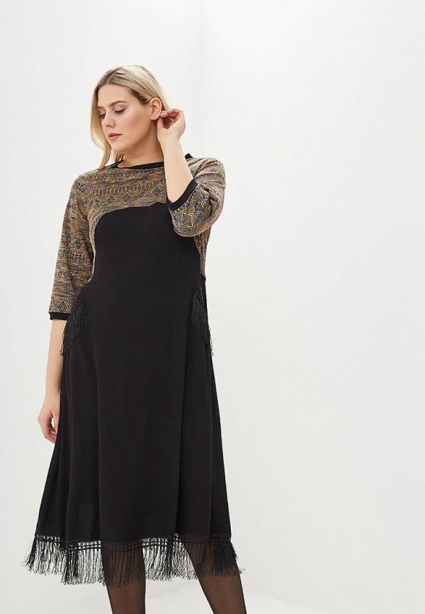 женское повседневные платье мечты данаи, черное