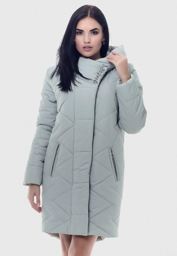 женская куртка vicco, бирюзовая
