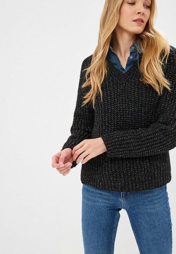 женский пуловер fashion.love.story, черный