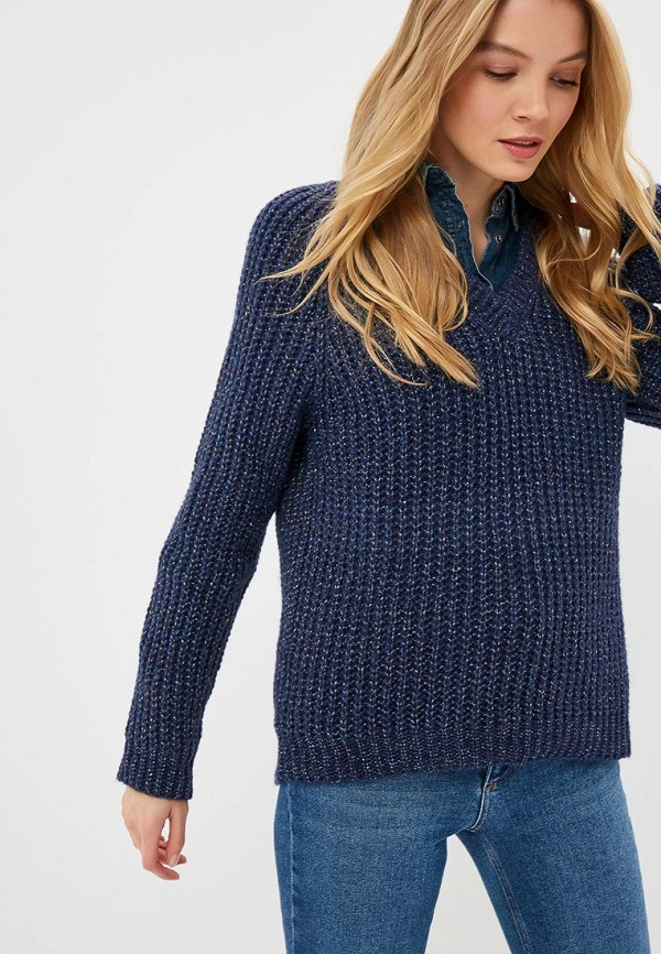 женский пуловер fashion.love.story, синий