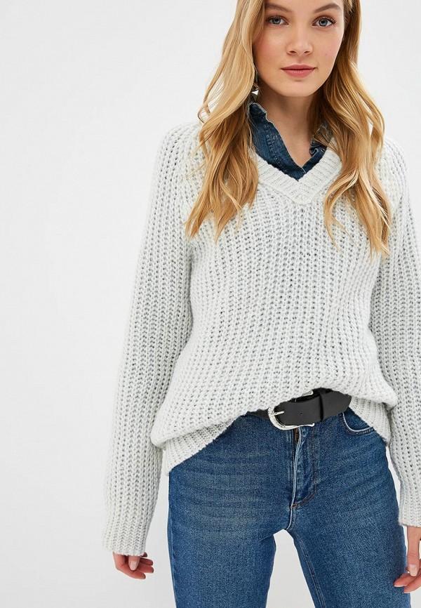 женский пуловер fashion.love.story, белый
