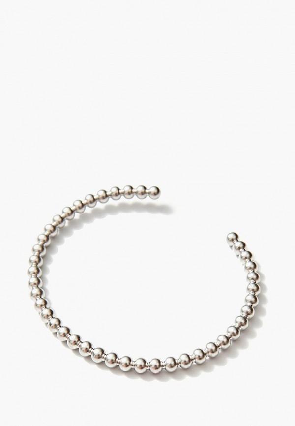 Браслет Exclaim Exclaim MP002XW1HRWL браслеты exclaim незамкнутый браслет из витого серебра с цирконами