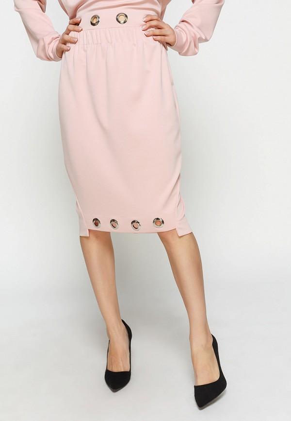 женская юбка zubrytskaya, розовая