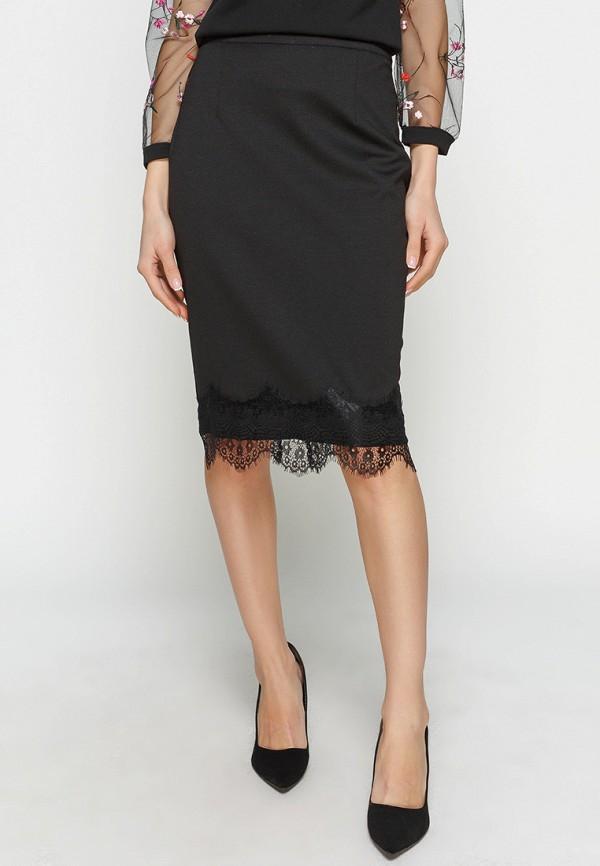 женская юбка zubrytskaya, черная
