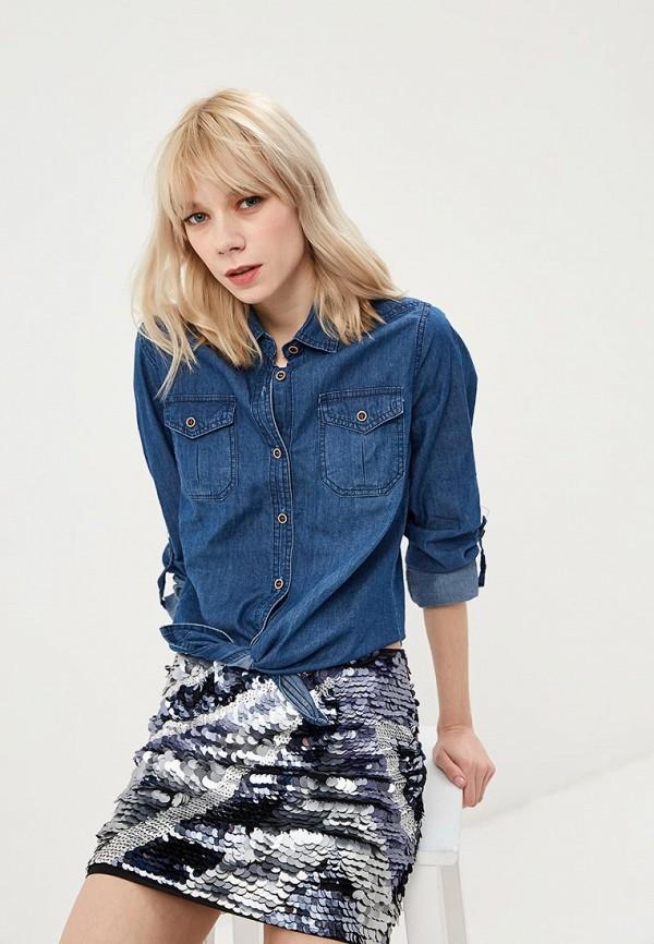цена Рубашка джинсовая Marissimo Marissimo MP002XW1HSAZ онлайн в 2017 году