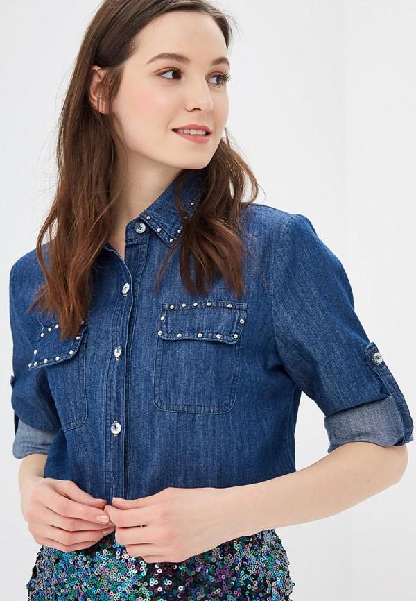 цена Рубашка джинсовая Marissimo Marissimo MP002XW1HSB3 онлайн в 2017 году