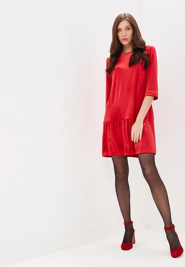 Фото 2 - Платье Froggi красного цвета