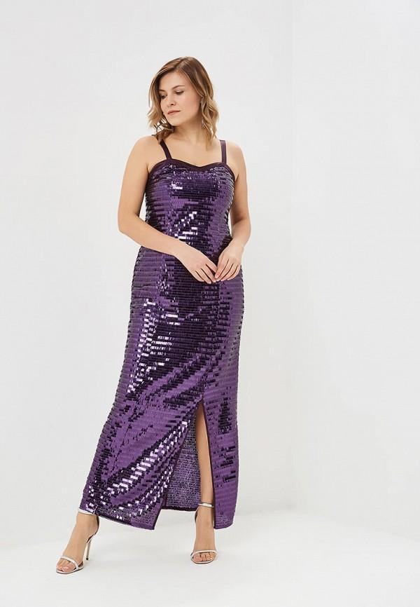 женское вечерние платье svesta, фиолетовое
