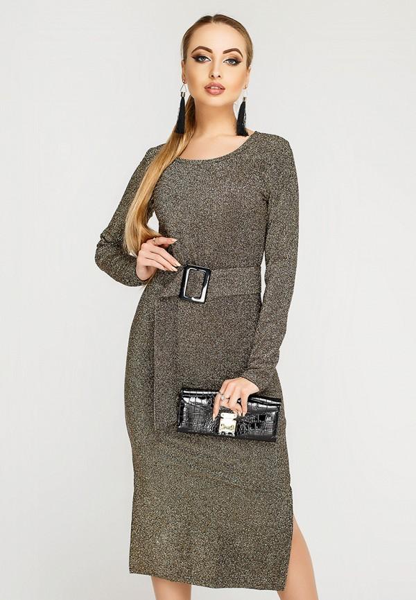 Купить Платье Leo Pride, mp002xw1hse3, золотой, Осень-зима 2018/2019