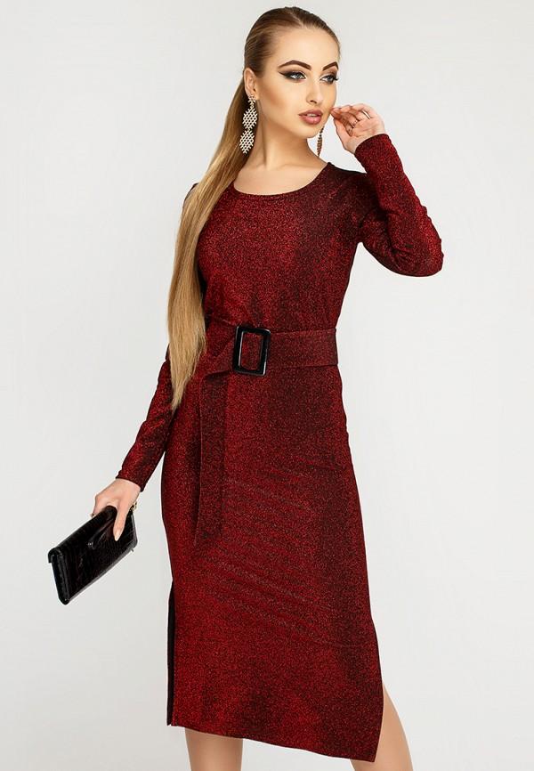 Купить Платье Leo Pride, mp002xw1hse4, бордовый, Осень-зима 2018/2019