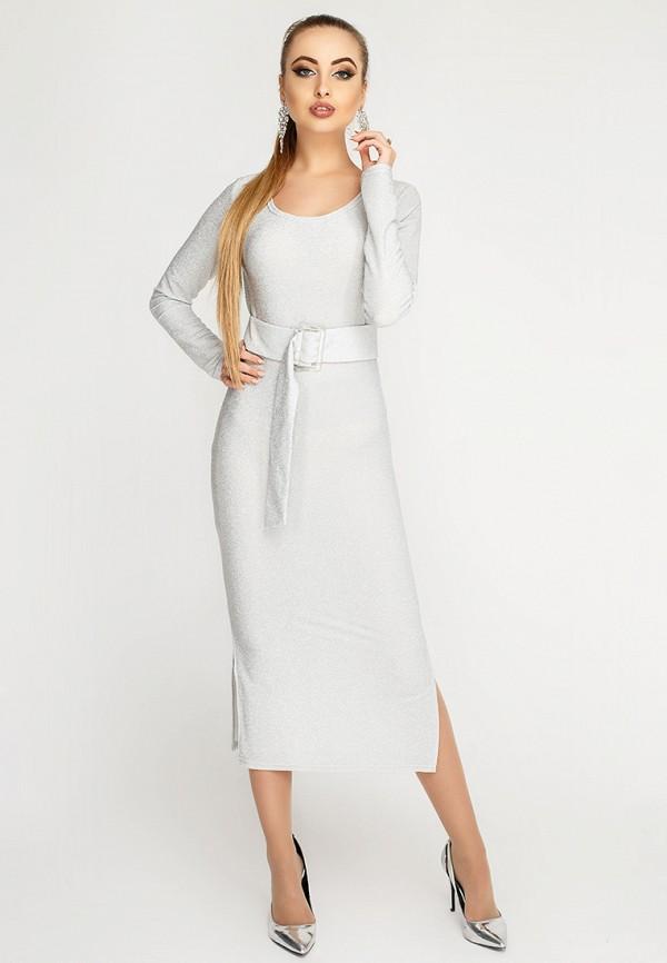Купить Платье Leo Pride, mp002xw1hse5, серебряный, Осень-зима 2018/2019