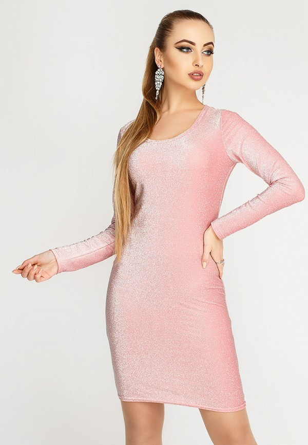 Купить Платье Leo Pride, mp002xw1hse7, розовый, Осень-зима 2018/2019