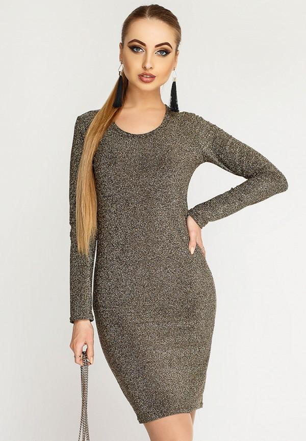 Купить Платье Leo Pride, mp002xw1hsec, золотой, Осень-зима 2018/2019