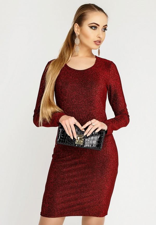 Купить Платье Leo Pride, mp002xw1hsed, бордовый, Осень-зима 2018/2019