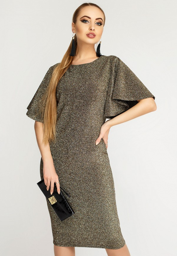 Купить Платье Leo Pride, mp002xw1hsek, золотой, Осень-зима 2018/2019