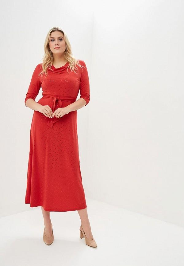 женское вечерние платье olsi, красное