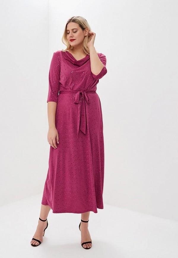 женское вечерние платье olsi, розовое