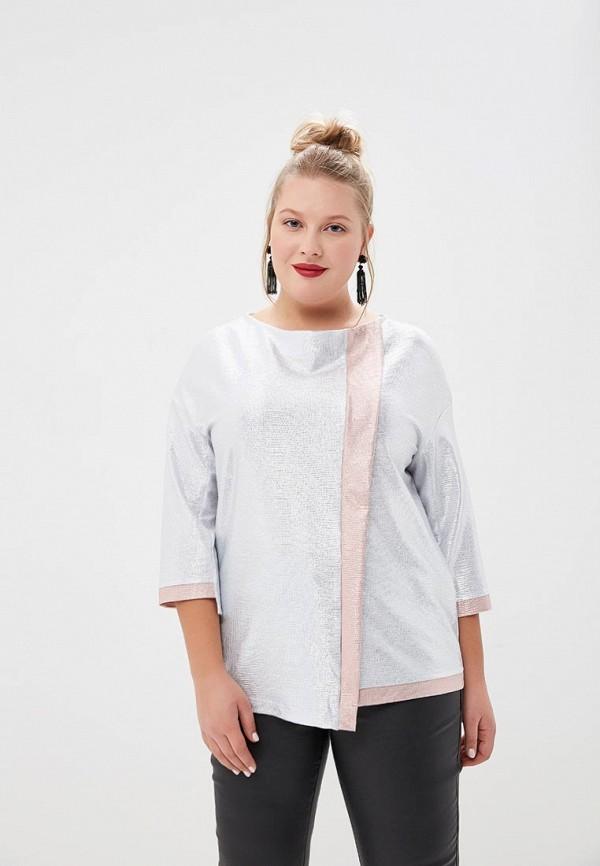 женская блузка olsi, серебряная