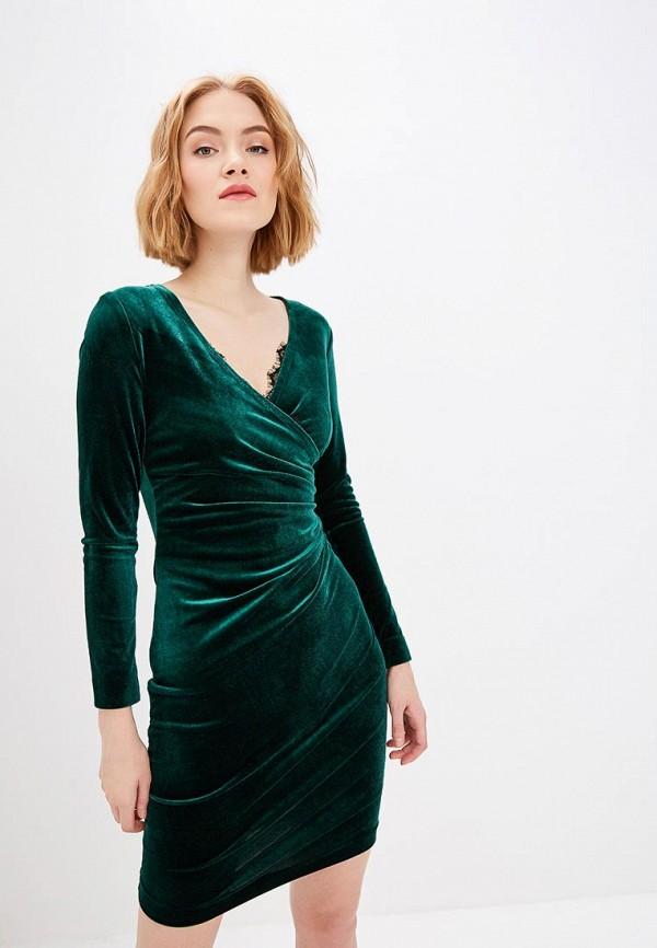 женское вечерние платье self made, зеленое