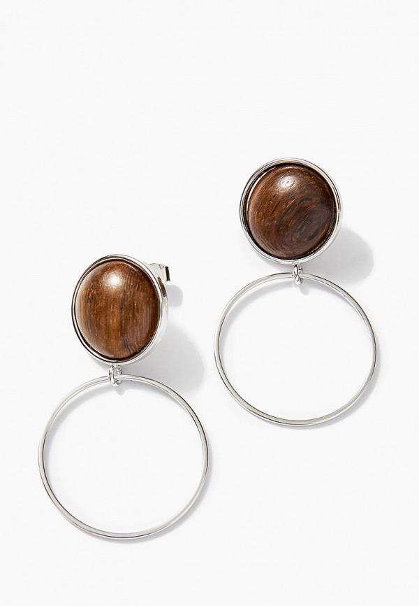 Серьги Exclaim Exclaim MP002XW1HSQ6 жен крупногабаритные серьги слезки серьги кольца секси крупногабаритные золотой серебряный круглый серьги назначение для