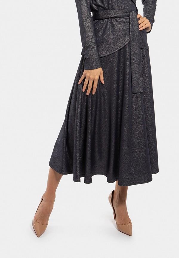 женская юбка vladi collection, синяя
