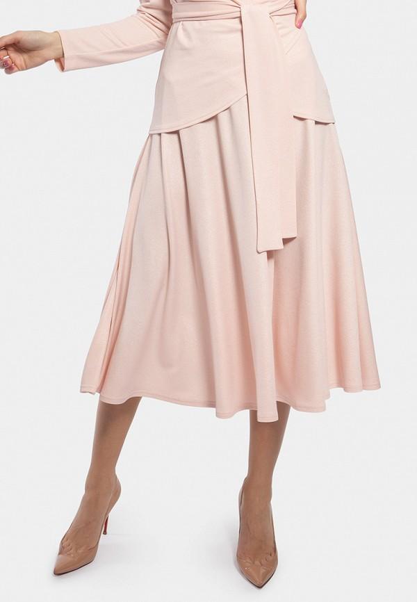 женская юбка vladi collection, розовая