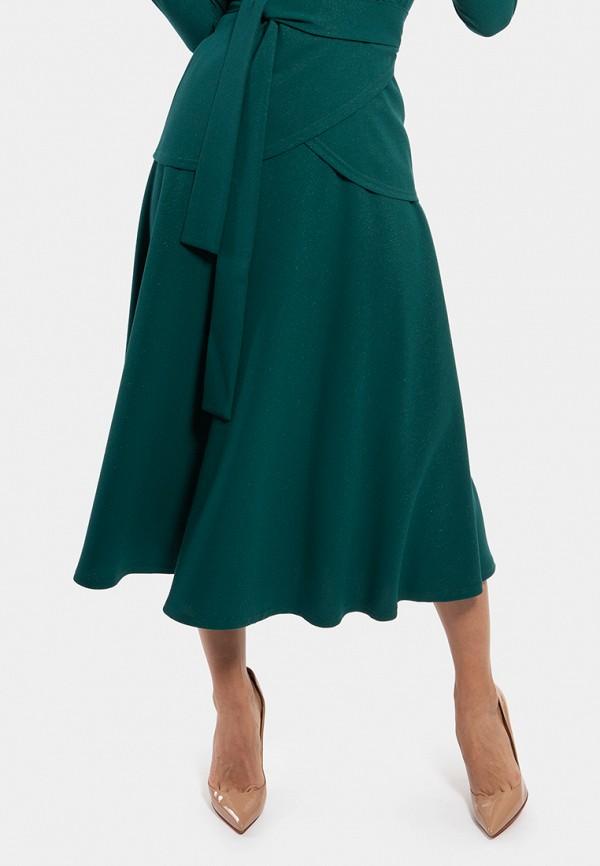 женская юбка vladi collection, зеленая