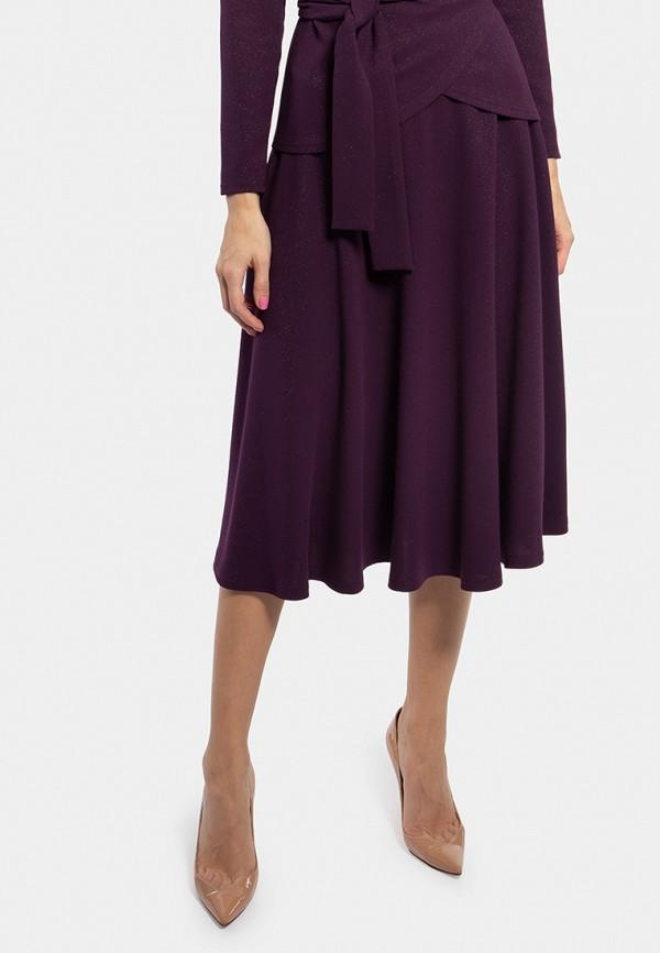 женская юбка vladi collection, бордовая