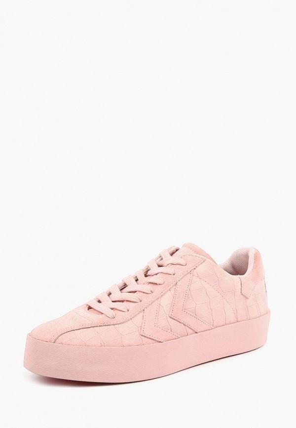 женские кеды hummel, розовые