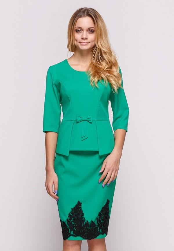 женский костюм zubrytskaya, зеленый