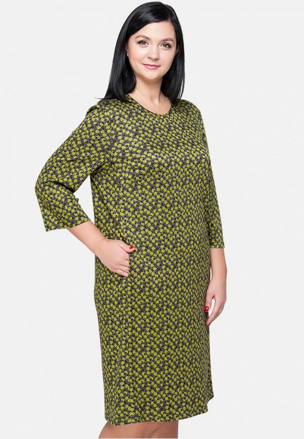 женское платье миди limonti, разноцветное