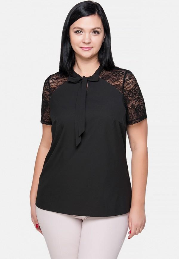 женская блузка limonti, черная