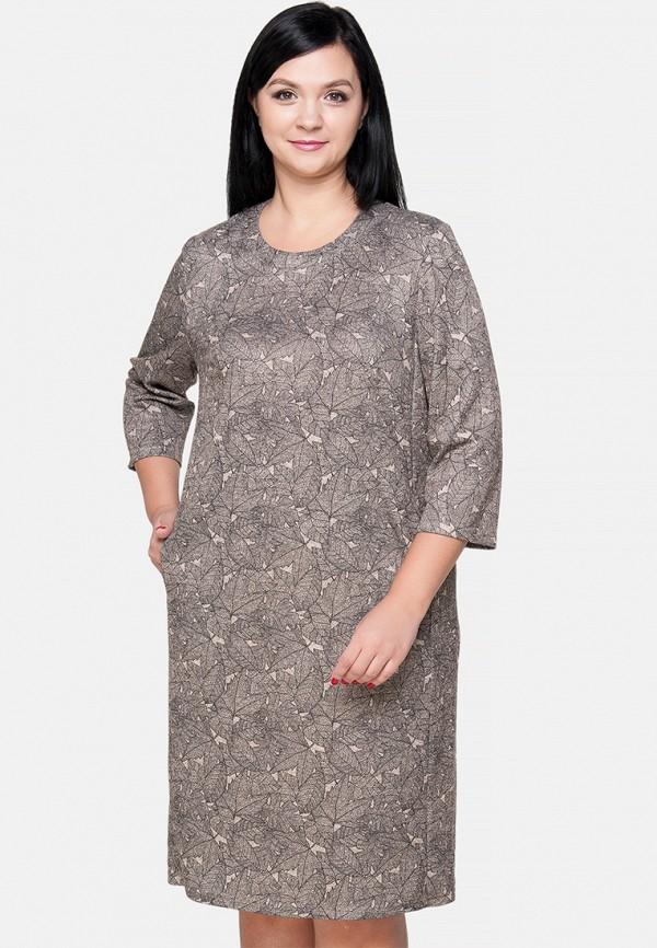 женское платье миди limonti, бежевое