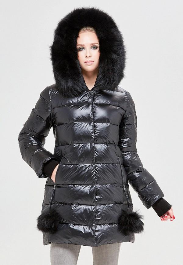 женская куртка mila nova, черная