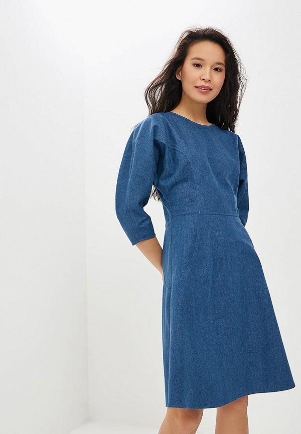 Платье джинсовое ImpressByDress ImpressByDress MP002XW1HSYP