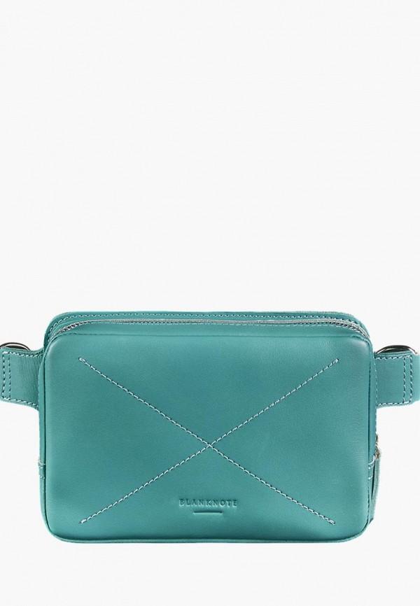 женская сумка blanknote, бирюзовая