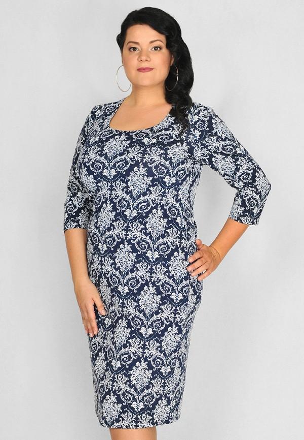 женское повседневные платье lila, синее
