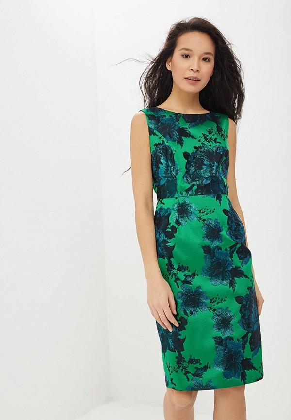 женское платье-футляр madeleine, зеленое