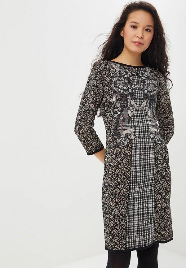 женское повседневные платье madeleine, серое