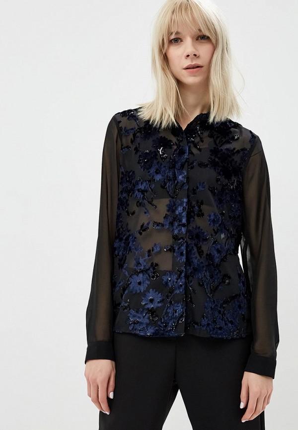женская блузка madeleine, черная