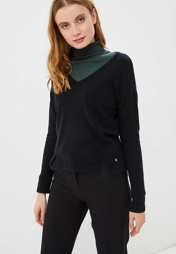 женский пуловер madeleine, черный
