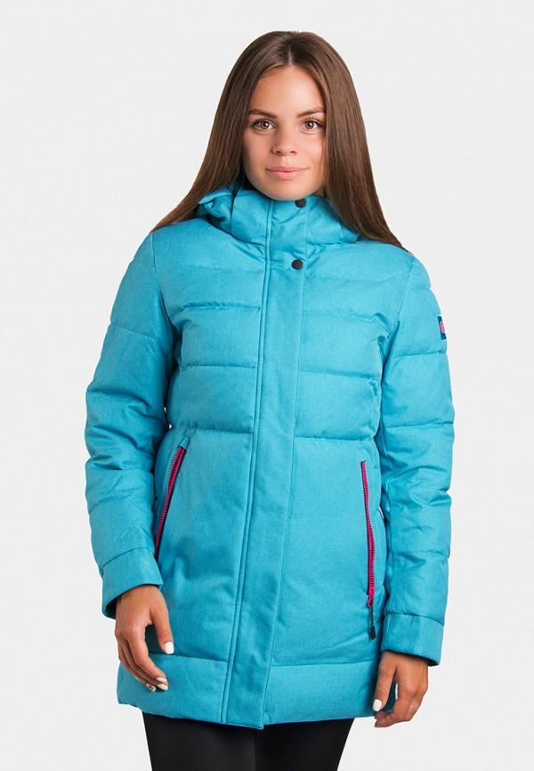 женская куртка avecs, бирюзовая