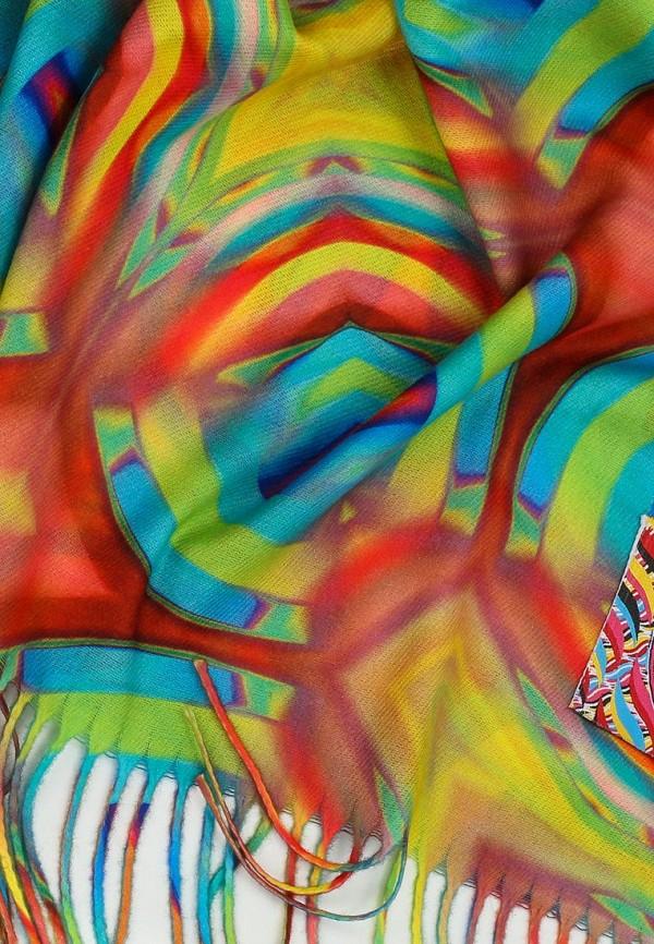 Фото 2 - Женский палантин Ligvianni разноцветного цвета