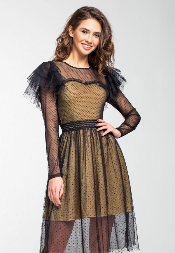 Платье itelle, mp002xw1hthg, золотой, Осень-зима 2018/2019  - купить со скидкой