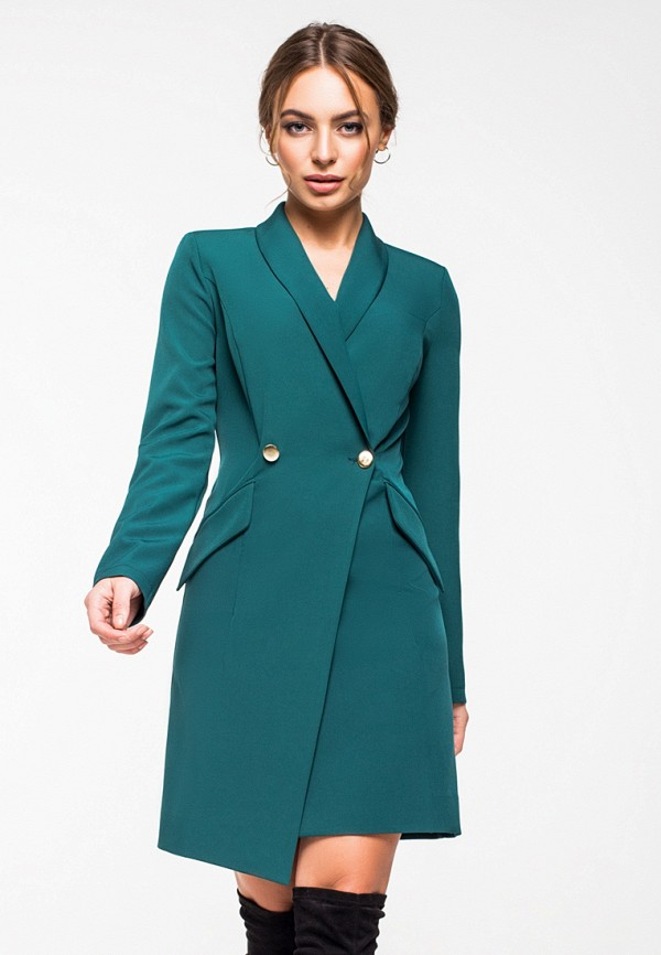 Купить Платье itelle, mp002xw1hthh, зеленый, Осень-зима 2018/2019